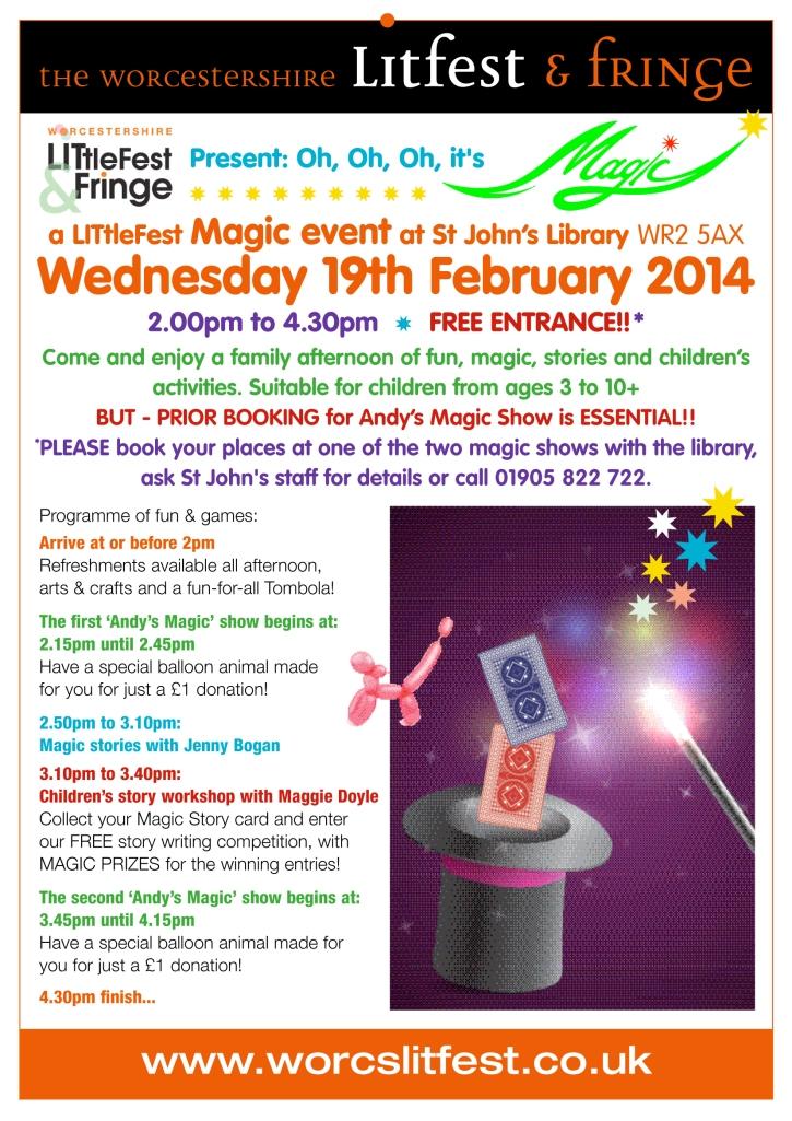 LITtleFest Magic show poster