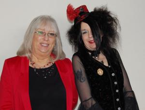 Maggie Doyle & Suz Winspear - two of our Pop Up Poets