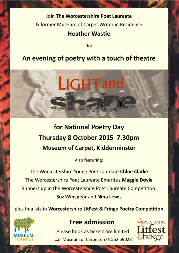 LitFest National Poetry Day Light and Shade Event