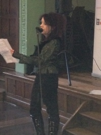 Suz Winspear - Worcestershire Poet Laureate