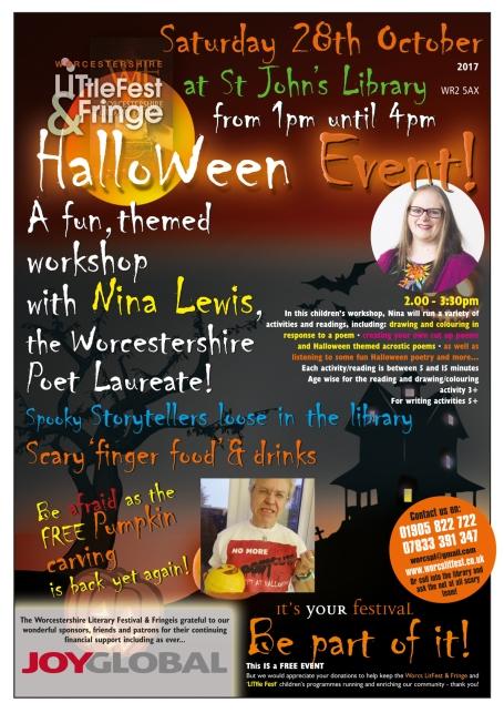 LitFest Halloween 2017 poster (1)